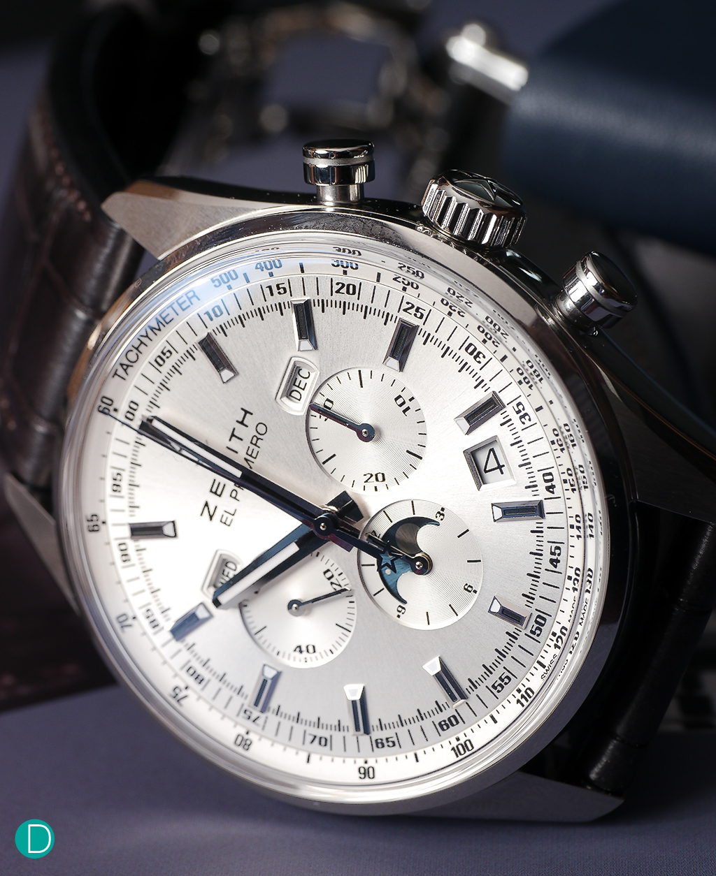 The Zenith El Primero. Probably one of the most iconic pieces in the Zenith lineup.
