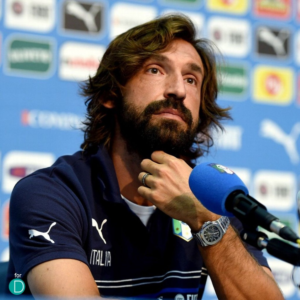 Spot The Watch Andrea Pirlo of Juventus