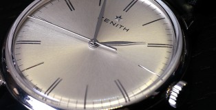 The new Zenith Prime, with a smooth, slim case in stainless steel. Classic looks which promises to be everlasting.