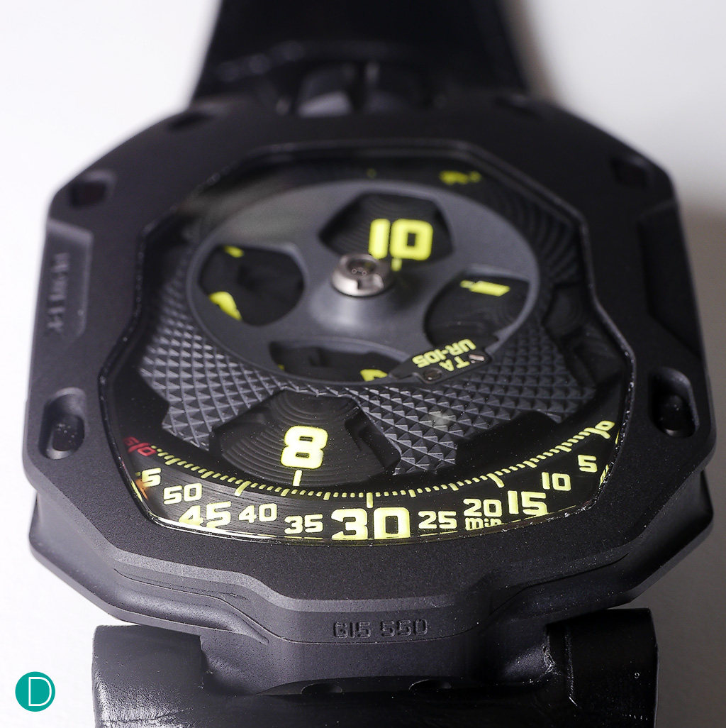 Just released: Hands on review: Urwerk UR-105TA with live pics