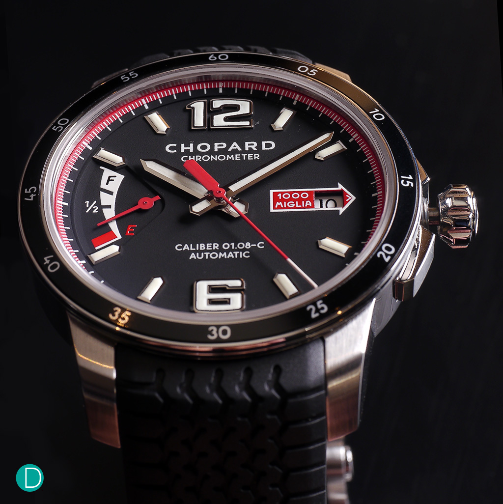 The Chopard Mille Miglia GTS Power Control. A rather pretty sports watch with some motoring pedigree.