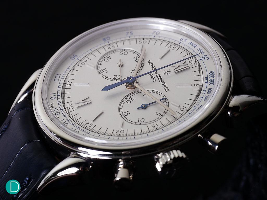 Vacheron Constantin Historique Cornes de Vache 1955. A rather magnificent timepiece in terms of aesthetics alone.