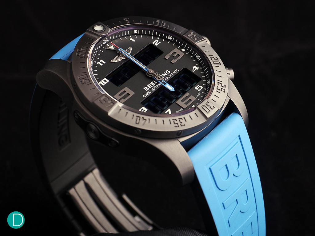 Breitling Exospace B55. Nicely designed and a good looker.