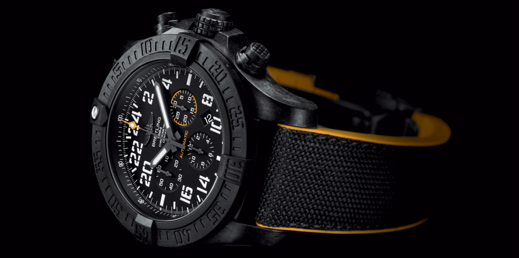 The Breitling Avenger Hurricane, featuring the Breitlight case.