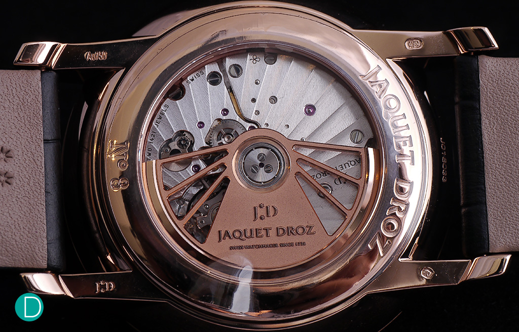 Jaquet Droz 2663H24, self-winding mechanical movement.