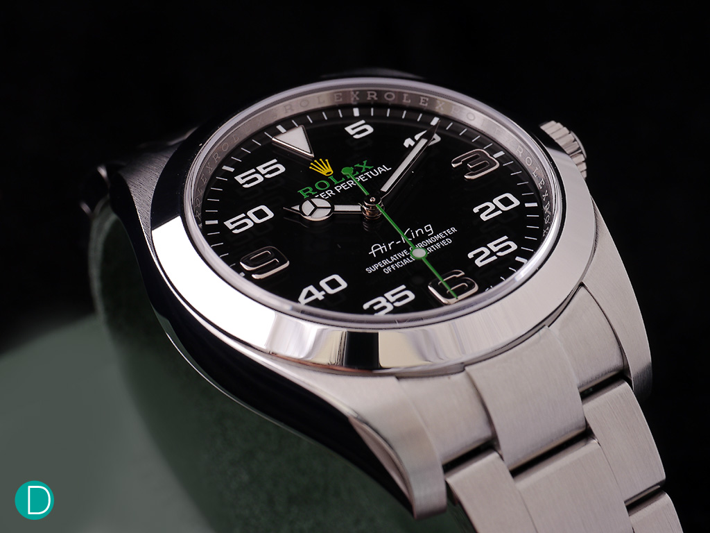 The Rolex Air-King. Something different from the usual Rolex offerings.
