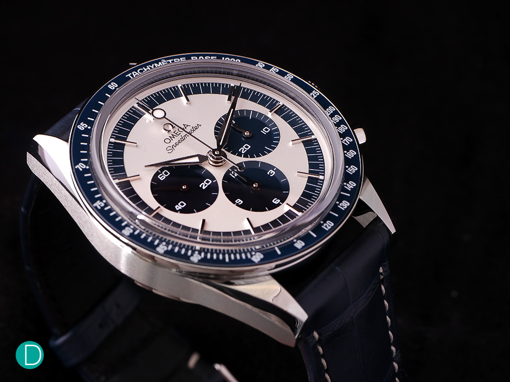 The Speedmaster CK2998 Limited Edition, which pays homage to the original CK2998.