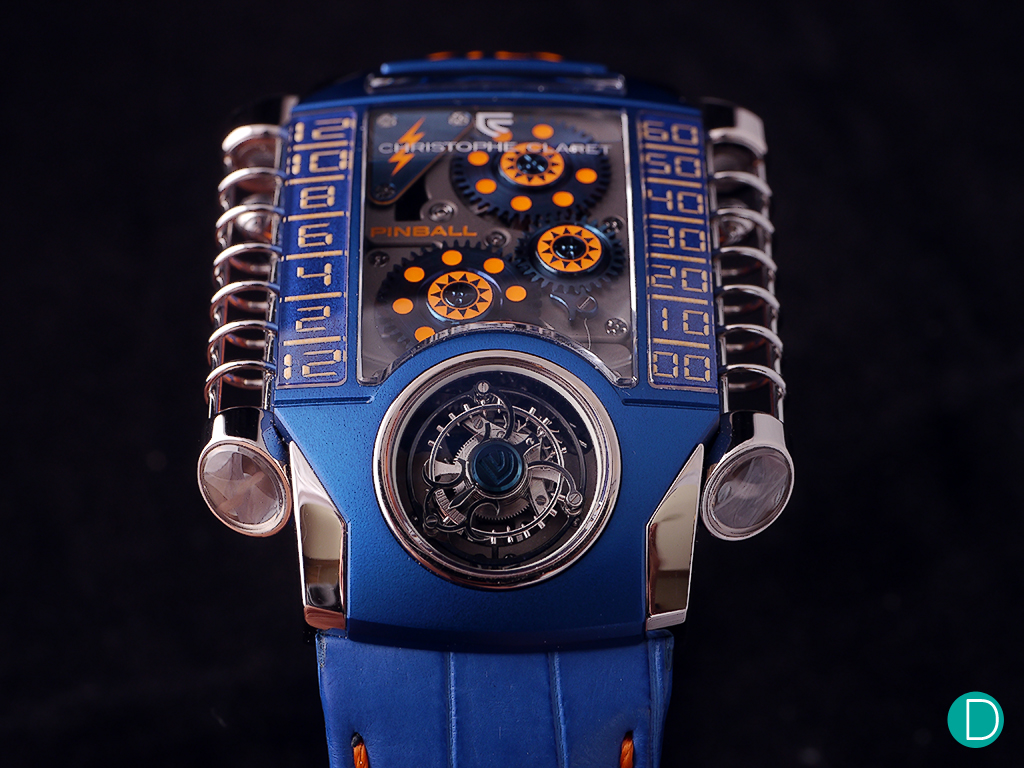 The Christophe Claret X-TREM 1 Pinball. An either love-it-or-hate-it timepiece.