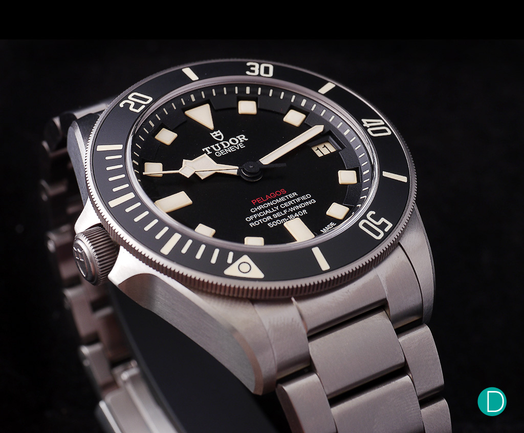 Review hands on with the tudor pelagos lhd - Tudor dive watch price ...